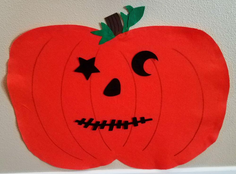 Felt Pumpkin 4