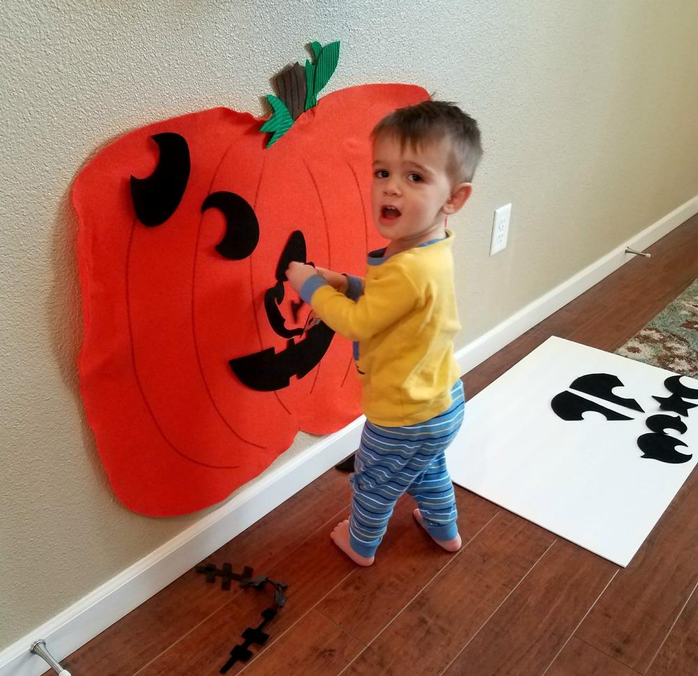Felt Pumpkin 8